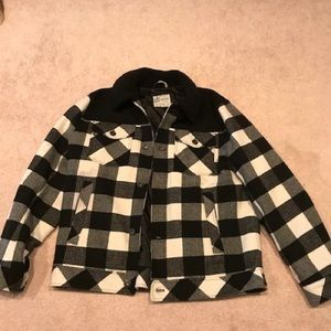 Sherpa collar lucky brand jacket